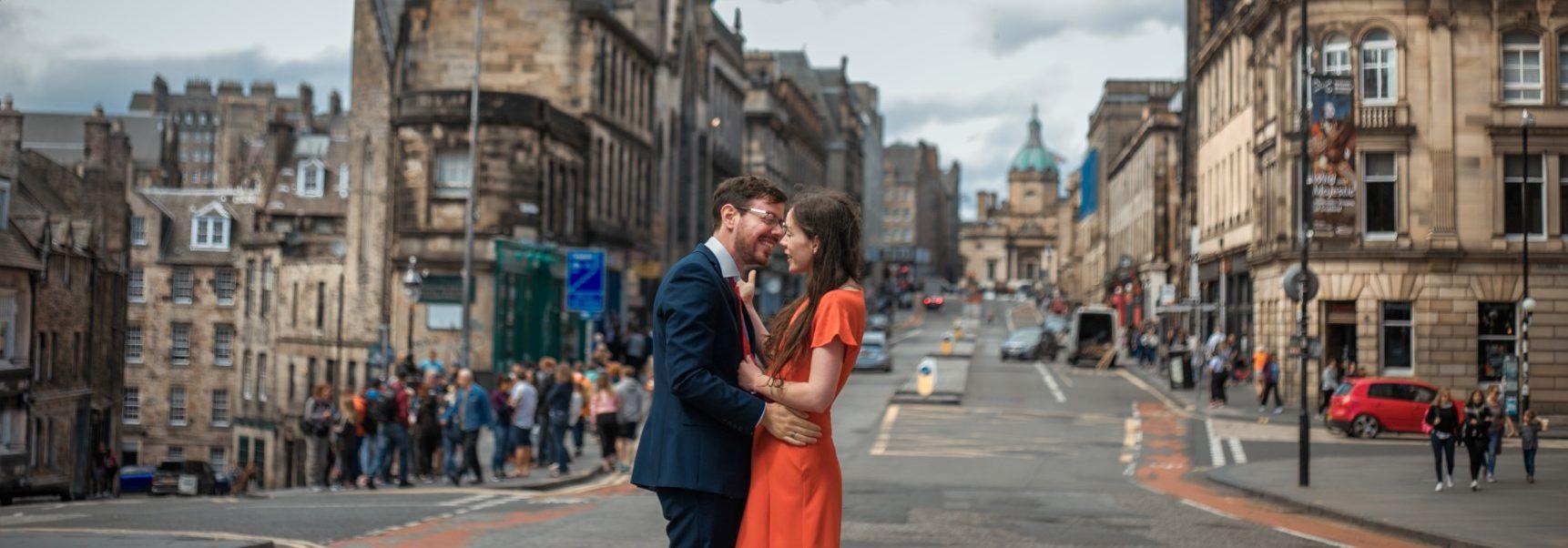 A walk in Edinburgh